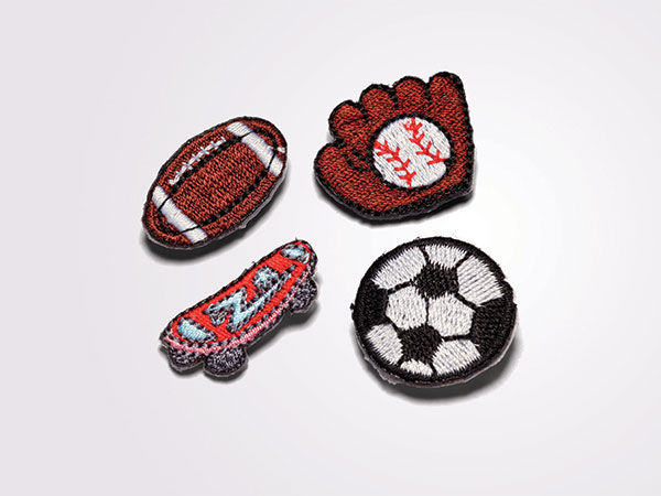 Boys or Girls Appliques for Denim Case